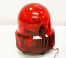 ライトを回転をさせ着信をお知らせする「パトライト」のイメージ