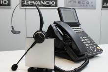 GN1000RHL充電台とビジネスフォン
