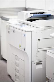 オフィスにあるFAX(複合機)のイメージ