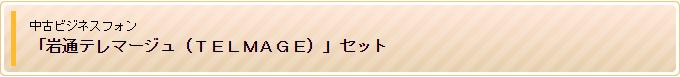 中古ビジネスフォン「岩通テレマージュ(TELMAGE)」セット