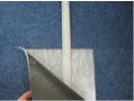 タイルカーペット下に配線するフラットケーブル